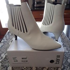 Bar III White heels